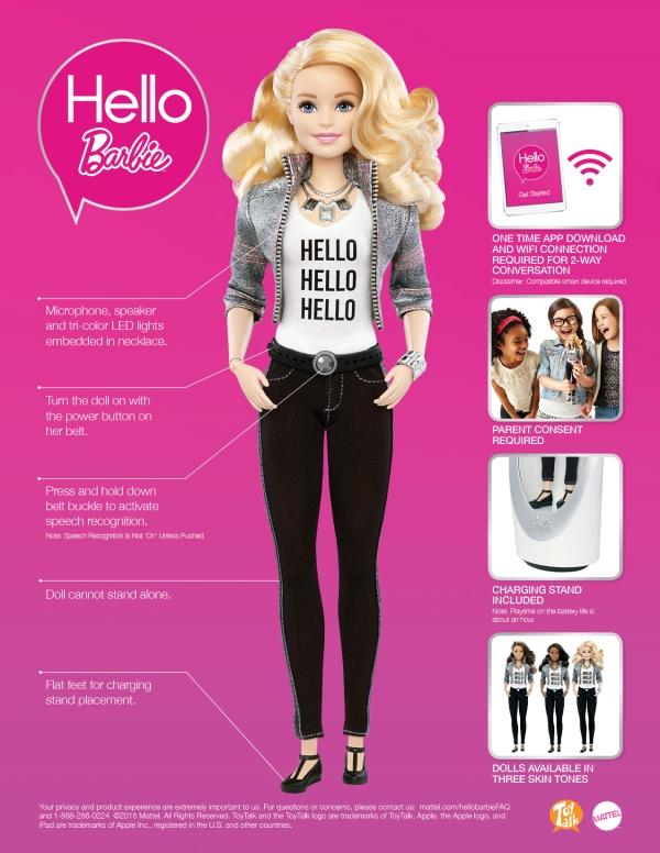 Spracherkennung Barbie